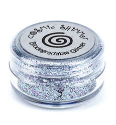 Cosmic Shimmer biologisesti hajoava glitter mix, sävy Blue Opal
