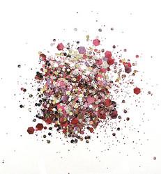 Cosmic Shimmer biologisesti hajoava glitter mix, sävy Marshmallow