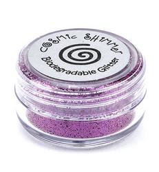 Cosmic Shimmer biologisesti hajoava glitter jauhe, sävy Fuchsia