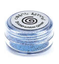 Cosmic Shimmer biologisesti hajoava glitter jauhe, sävy Ocean Blue
