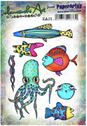 PaperArtsy Elenazinski Art leimasinsetti 31