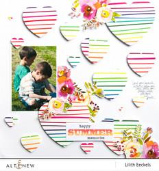 Altenew washiteippi Rainbow Stripes