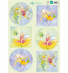 Marianne Design korttikuvat Hetty's Fairies