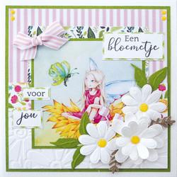 Marianne Design korttikuvat Hetty's Fairies