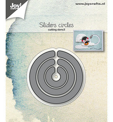 Joy! Crafts stanssisetti Sliders, circles