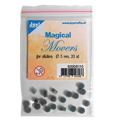 Joy! Crafts Magical Movers slider-korteille, 5 mm, 20 kpl