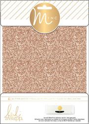 Heidi Swapp Minc Glitter Sheets, sävy Rose Gold