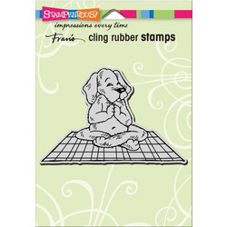 Stampendous leimasin Yoga Dog