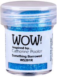 Wow! Embossing Glitters -kohojauhe, sävy Something Borrowed by Catherine Pooler, Regular (T)