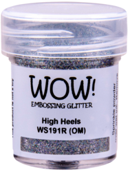 Wow! Embossing Glitters -kohojauhe, sävy High Heels, Regular (O)