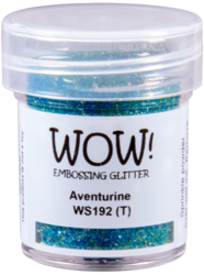 Wow! Embossing Glitters -kohojauhe, sävy Aventurine, Regular (T)