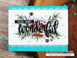 Catherine Pooler leimasinsetti Grateful Heart