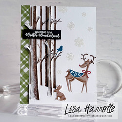Catherine Pooler leimasinsetti Winter Woodland