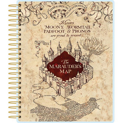 Paper House Harry Potter Marauder's Map -kalenteri, undated, 12 kk