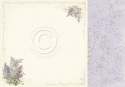 Pion Design New Beginnings skräppipaperi Dreams of Lilac
