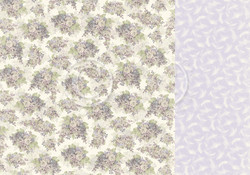 Pion Design New Beginnings skräppipaperi Lilacs