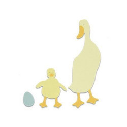 Sizzix Bigz stanssi Duck and Duckling