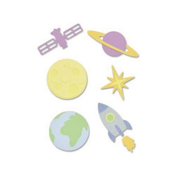 Sizzix Thinlits stanssisetti Space