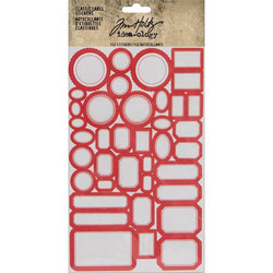 Tim Holtz Idea-ology Classic Label -tarrat