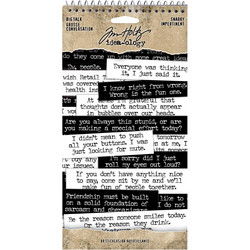 Tim Holtz Idea-ology Big Talk -tarrat Snarky