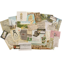 Tim Holtz Idea-Ology Layers Remnants, leikekuvat, 33 kpl