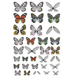 Tim Holtz Idea-Ology Transparent Acetate Wings -siivet, 72 kpl