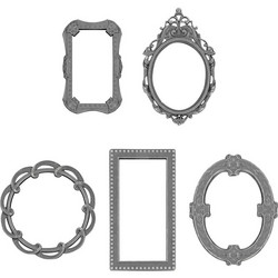 Tim Holtz Idea-Ology Adornments Metal Deco Frames, metallikoristeet