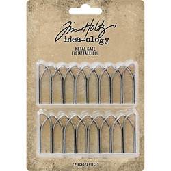 Tim Holtz Idea-Ology Metal Gates, metallikoristeet