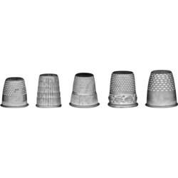 Tim Holtz Idea-Ology Metal Thimbles (sormustimet), metallikoristeet