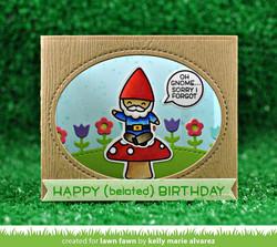 Lawn Fawn Oh Gnome! -leimasinsetti