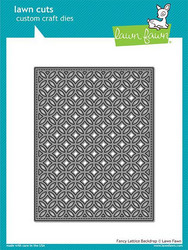 Lawn Fawn stanssi Fancy Lattice Backdrop