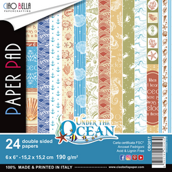 Ciao Bella paperipakkaus Under The Ocean