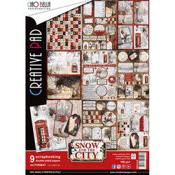 Ciao Bella Creative Pad paperipakkaus Snow and the City