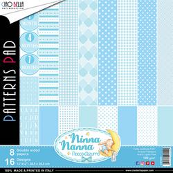 Ciao Bella Patterns Pad paperipakkaus Ninna Nanna Boy, 12
