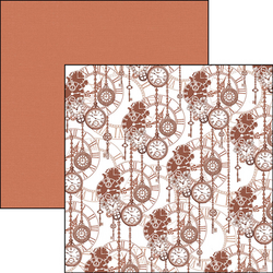 Ciao Bella Patterns Pad paperipakkaus Evergreen Classics Caramel Mocha, 12
