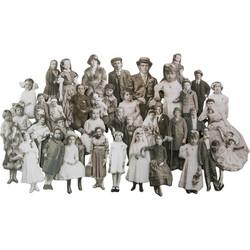 Tim Holtz Idea-Ology Baseboard Dolls, 36 kpl