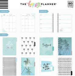 Mambi Happy Planner 18-Month Dated Classic Planner -kalenteri, Coastal Vibes