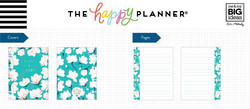 Mambi Micro Happy Notes -muistikirja, Southern Preppy