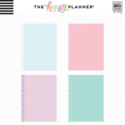 Mambi Happy Planner Classic paperipakkaus, Colored Note Paper, Dot Grid