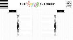 Mambi Happy Planner Tiny paperipakkaus Lined