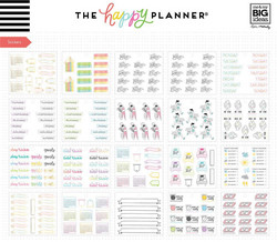 Mambi Happy Planner Note Cards/Sticky Note -pakkaus, Journaling