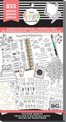 Mambi Happy Planner -tarrapakkaus Journaling Doodles