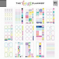 Mambi Happy Planner Value -tarrapakkaus Neon Lights