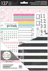 Mambi Happy Planner Classic Accessories -pakkaus Habit Tracking