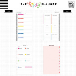 Mambi Classic Dry Erase Boards -sivut, Meal Planner