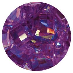Nuvo Pure Sheen Gemstones -koristeet, Amethyst Squares