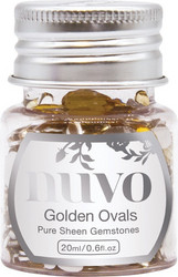 Nuvo Pure Sheen Gemstones -koristeet, Golden Ovals
