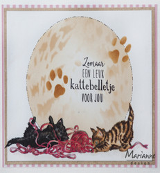 Marianne Design leimasin Tinys' Border, Kittens
