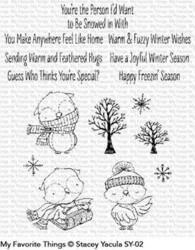 My Favorite Things Warm & Feathered Hugs leimasinsetti