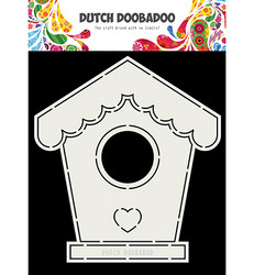 Dutch Doobadoo Birdhouse  -sapluuna